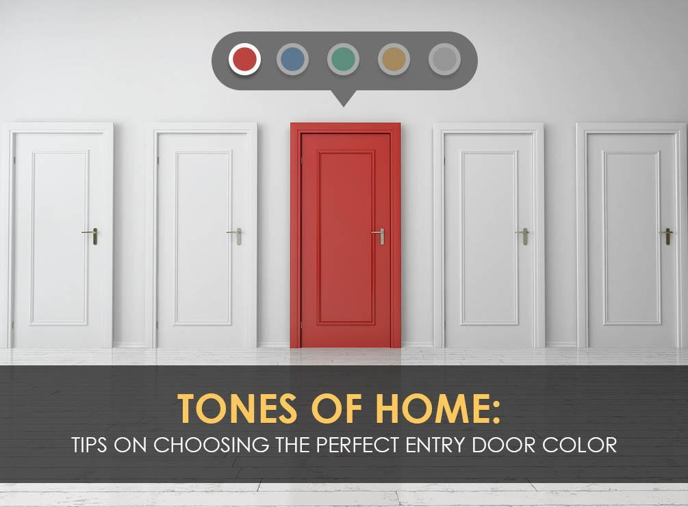 Tips on Choosing the Perfect Entry Door Color