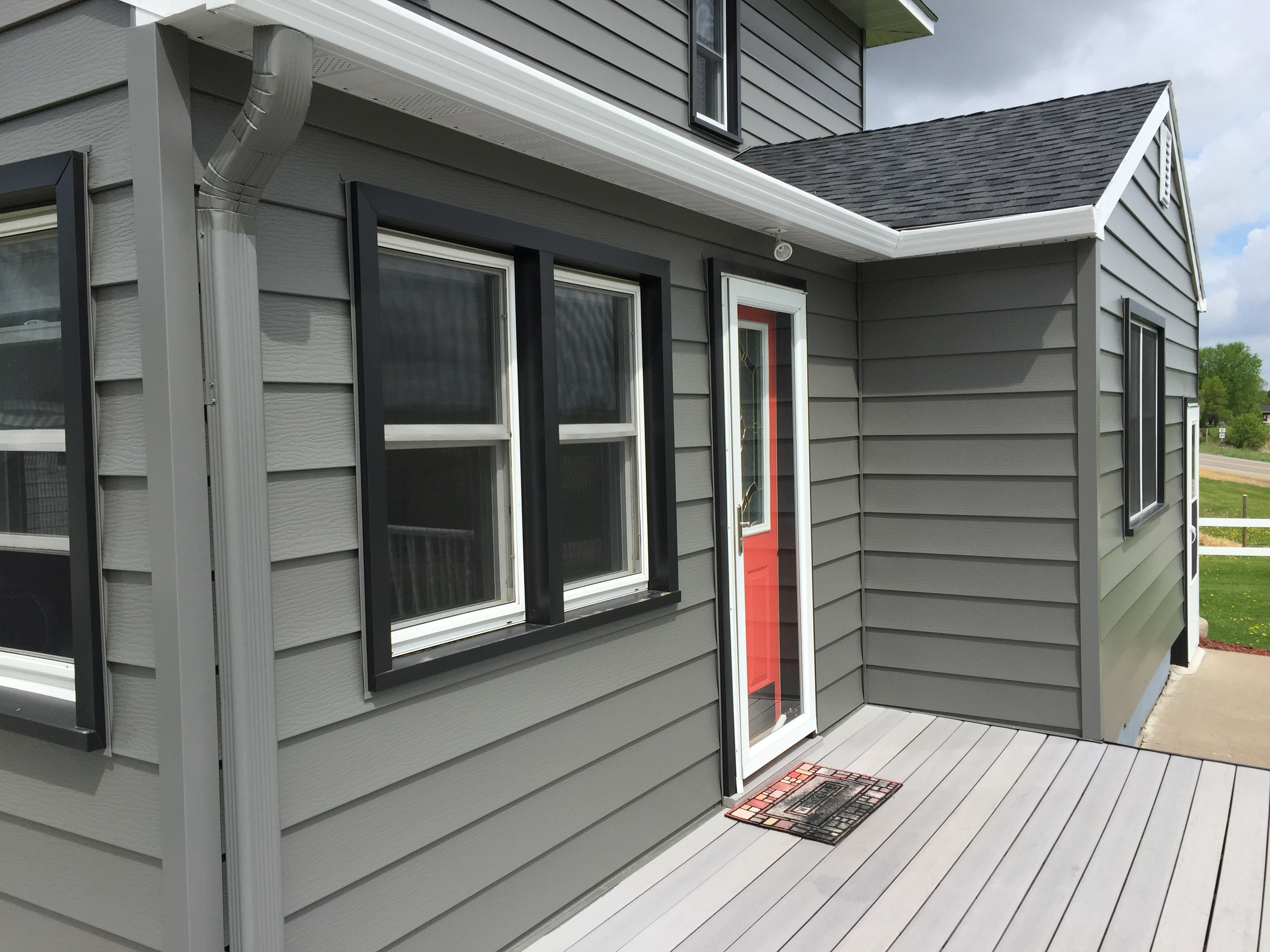Windows and siding for home