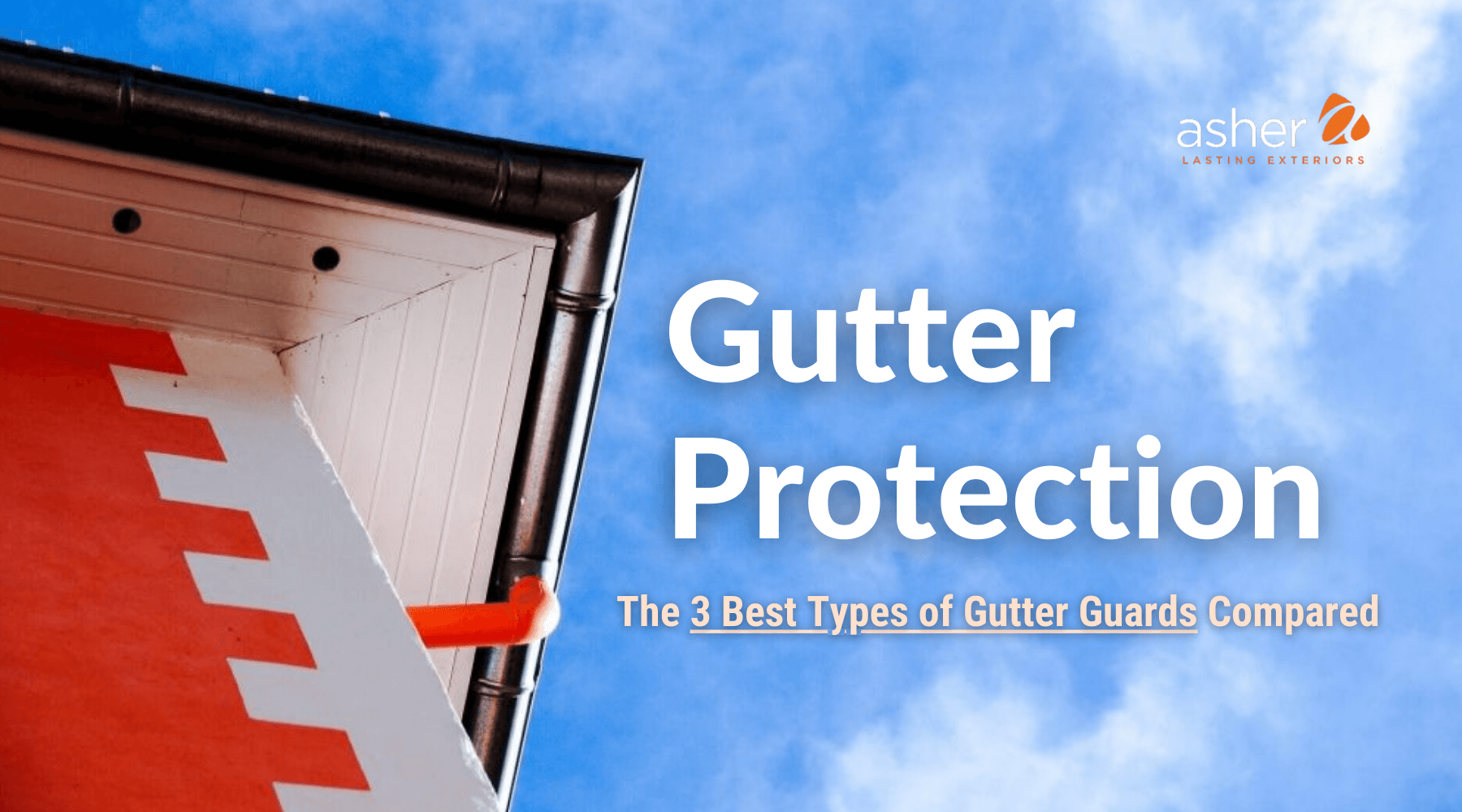 Cover image of a nice home with excellent gutters