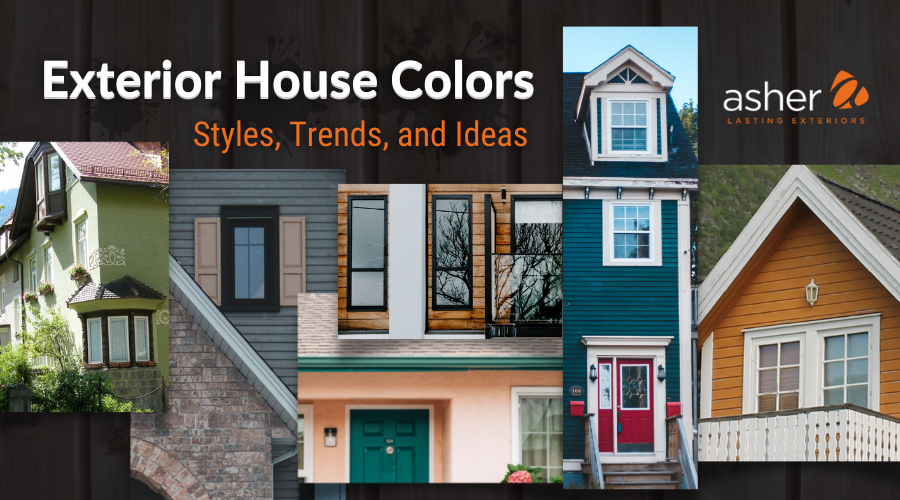 Exterior House Colors 2021 Blog Cover Image