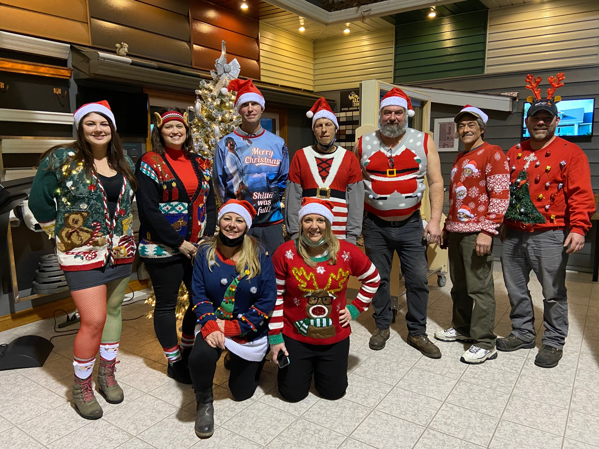 Ugly Christmas Sweater Contest